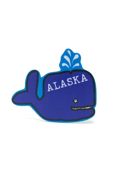 Grover Whale Mini Sticker