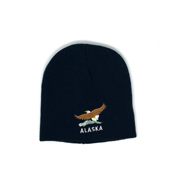Eagle/Mountain Knit Hat