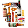 Beer and meat gift set, Foodie gift, christmas collection, gift for him