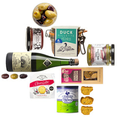 Craft christas gifts, gifts for her, gifts for him, foodie collection, boozy gift set, curated by Craved