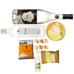 Gin & Tonic gift set, boozy gifts, Cocktail sets, gifts for her, gifts for him curated by Craved