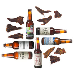 beer and charcuterie subscription, subscription gifts,  Foodie Gift boozy gift christmas gift for him Curated by Craved