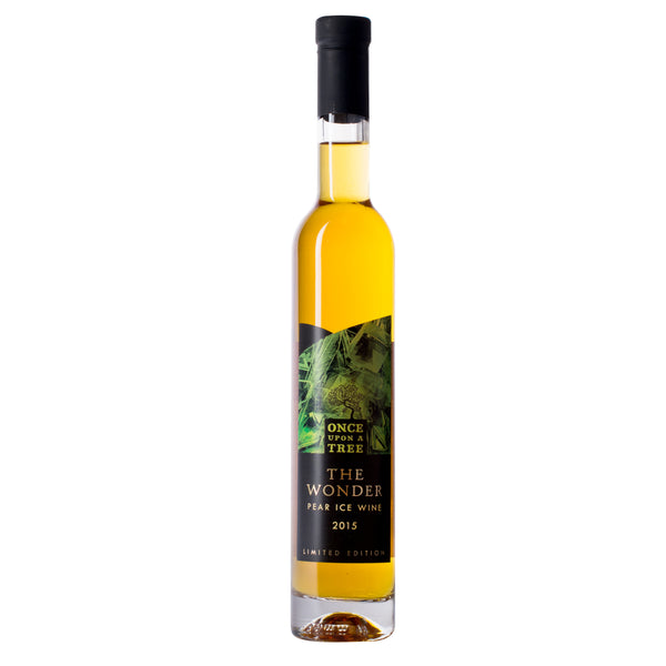 Once Upon A Tree Pear Ice Wine Sweet Apple Wine bottle, Boozy Gift Curated by Craved