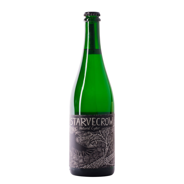 Starvecrow Natural Cider Medium Cider bottle, Boozy Gift Curated by Craved