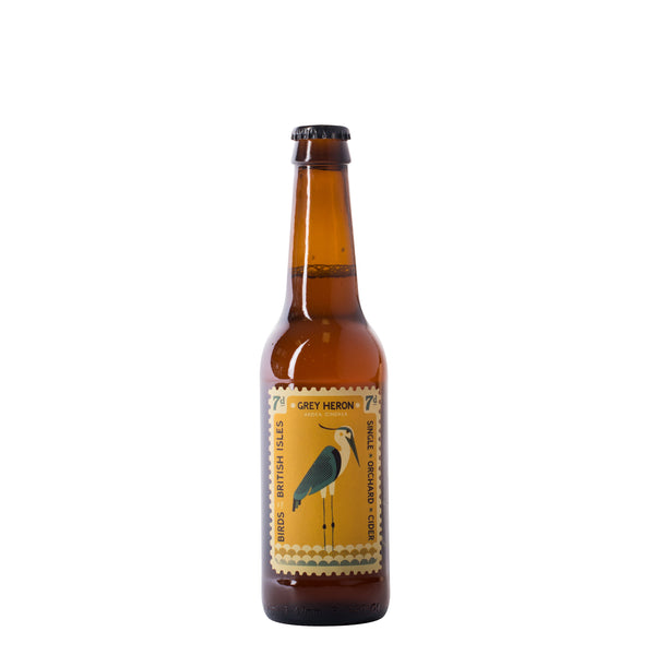 Perry's Somerset Cider Grey Heron Cider Sparkling Dry Cider bottle, Boozy Gift Curated by Craved