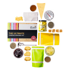 Cheese gift set, Make Your Own kit, Gifts for Families and Friends curated by Craved
