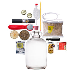 Homebrewed Beer Making Brewing Kit, Christmas Gifts, Make Your Own Boozy Gift Curated by Craved, gifts for him
