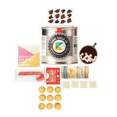 Hot Chocolate Gift Box, gifts for her, gifts for him, Foody Gifts for Chocaholics Curated by Craved