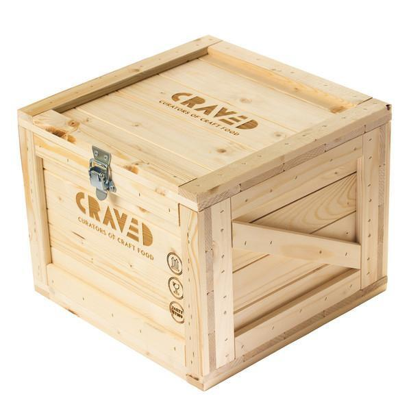 gift wrapped, wooden crate, gift collection, gift sets, christmas gifts, gifts for her, gifts for him, curated by Craved