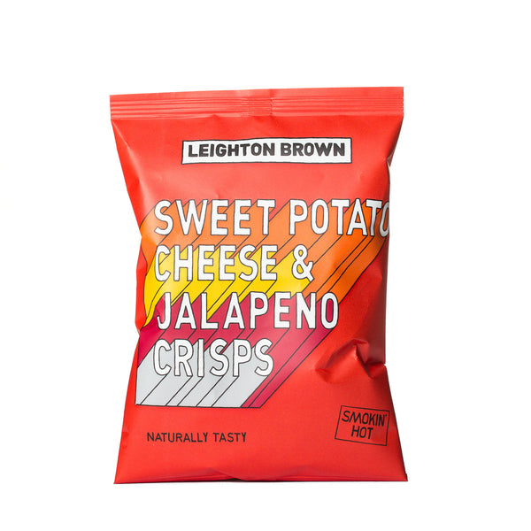 Sweet Potato, Cheese & Jalapeño Crisps