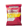 Beetroot Crisps with Horseradish and Dill