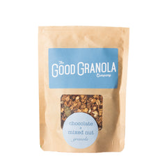 Chocolate and mixed nut granola
