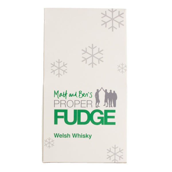 Welsh Whisky Fudge