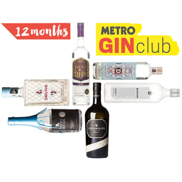Metro 12 Month Gin Gift Subscription