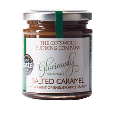 Salted Caramel Apple Brandy Sauce