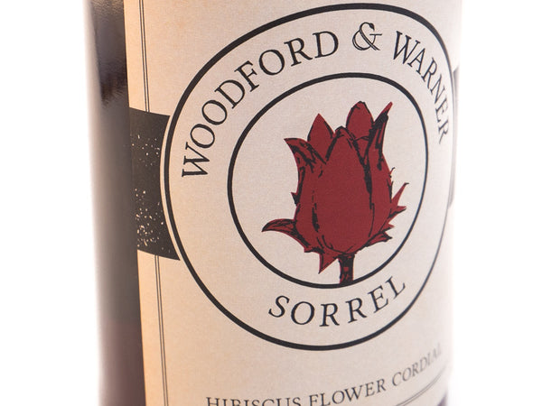 Hibiscus Cordial made by Woodford & Warner in Walthamstow, London