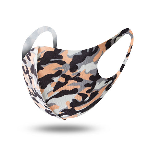Camouflage Washable Reusable Face Mask