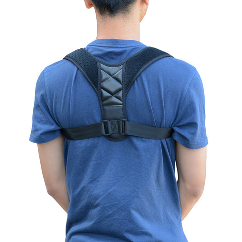 Posture Corrector Back Support Adjustable Shoulder Lumbar Brace Belt
