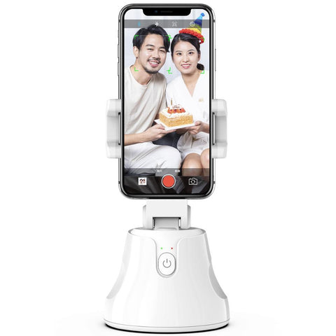360 Rotation Smart Selfie Stick with Auto Face Tracking