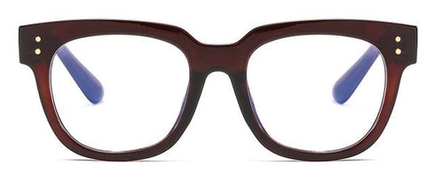 Anti Blue Big Frame Women Glasses