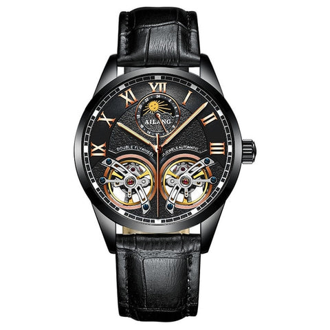 Double Flywheel Automatic Mechanical Watch