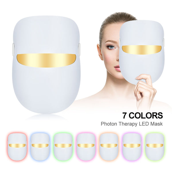 7 Colors Light Rejuvenation Therapy Facial Mask
