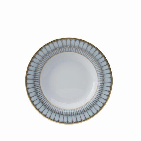 Arcades Grey & Gold Fine China Collection