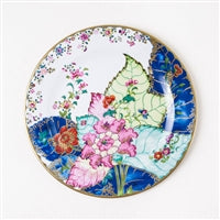 "Tobacco Leaf 10"" Tin Plate"