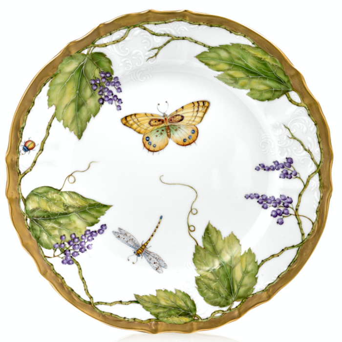 Wildberry Lavender Fine China Collection