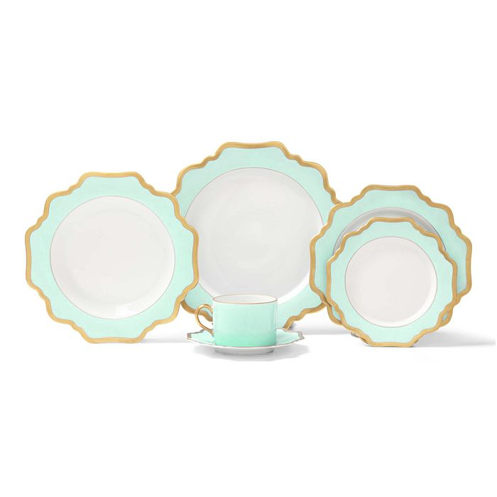 Aqua Green Palette Fine China Collection