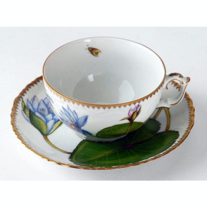 Seascape Waterlily Fine China Collection