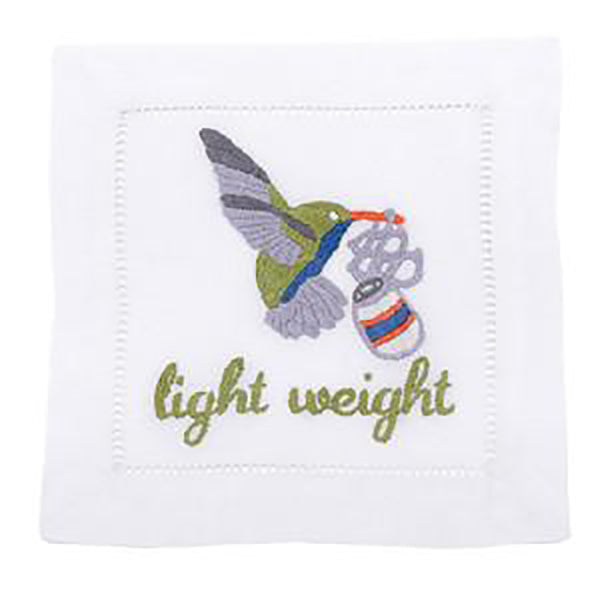 August Morgan Light Weight Cocktail Napkin