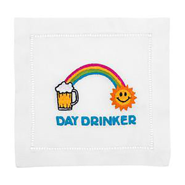 August Morgan Day Drinker Cocktail Napkin