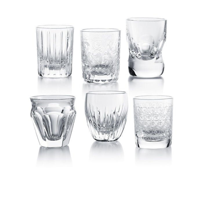 Everyday Les Minis Crystal Shot Glass Set