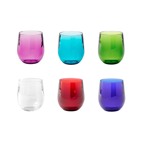 Acrylic 12 oz Tumblers - Assorted Colors
