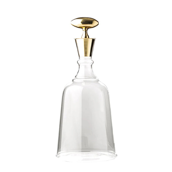Chalet Brass Top Decanter