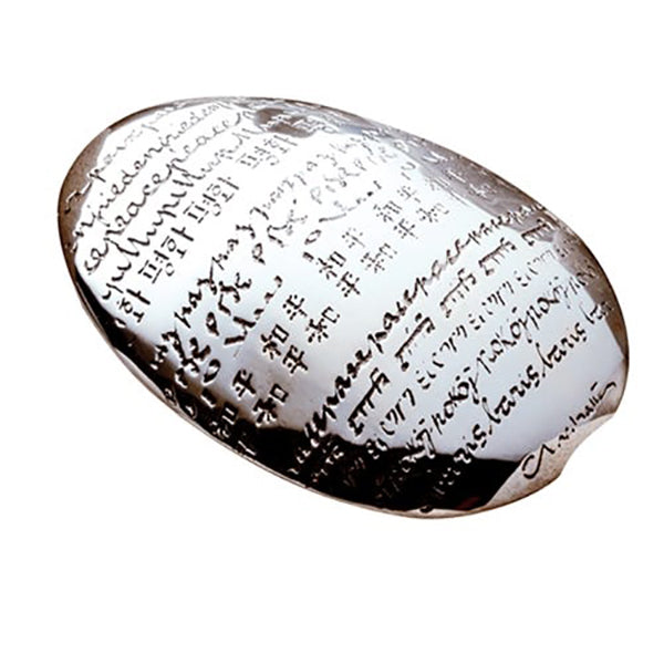 Graffiti Peace Pebble Paperweight