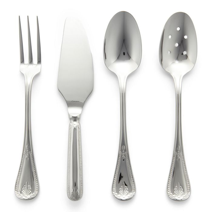 Consul Stainless Steel Four Piece Hostess Set