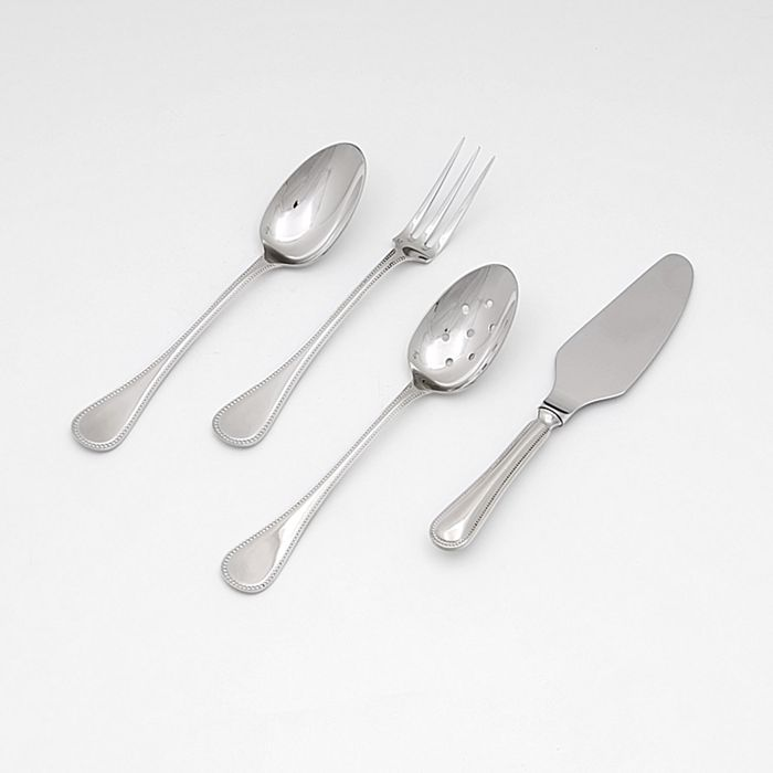 Le Perle Stainless Steel Four Piece Hostess Set