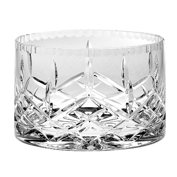 Plaza Straight Sided Crystal Bowl