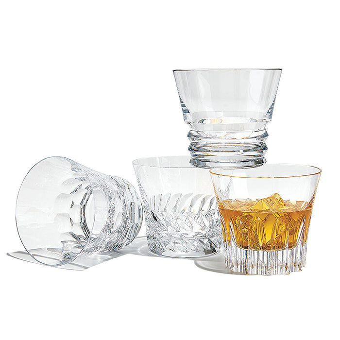 Dallas Assorted Crystal Tumbler Set