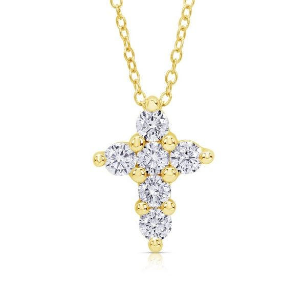 Diamond Cross Pendant - .75 TCW
