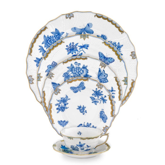Fortuna Blue Fine China Collection