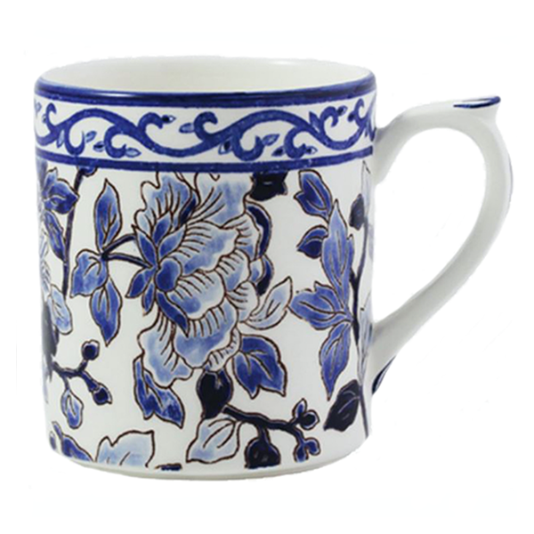 Pivoines Bleues Fine China Collection