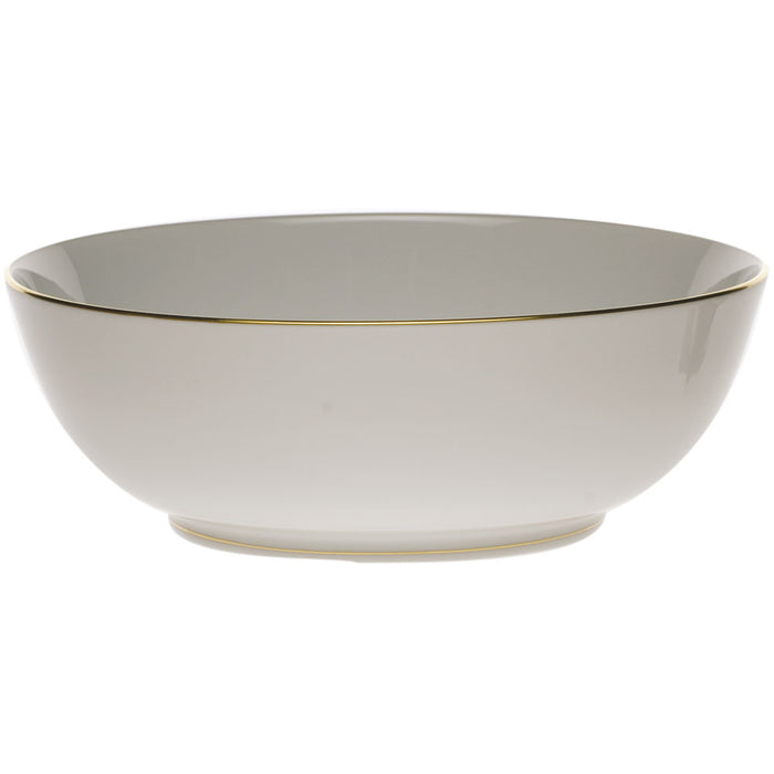 Golden Edge Large Bowl