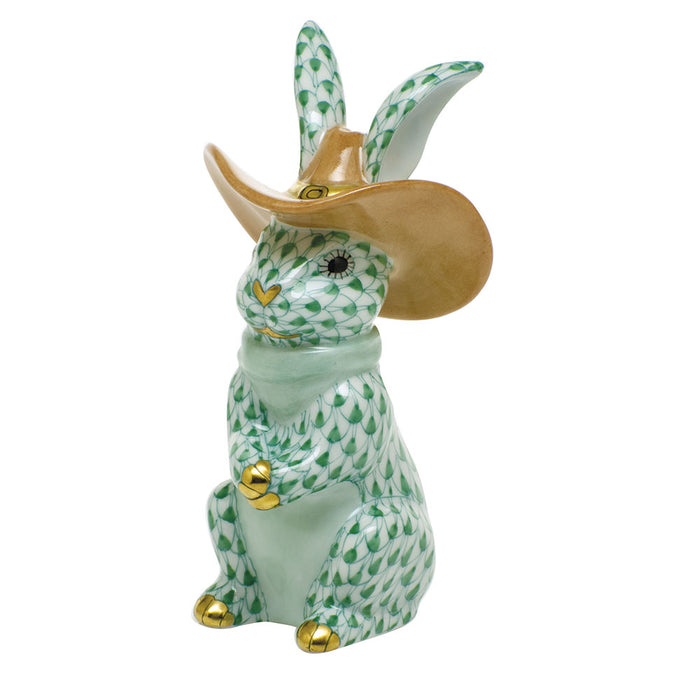 Cowboy Bunny - 3 Colors Available