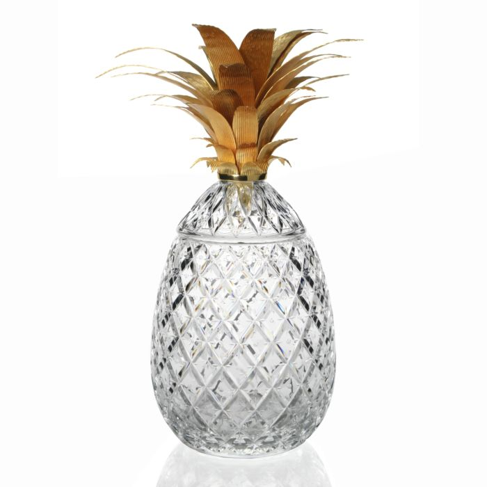 Isadora Pineapple Centerpiece in Gold - LIMITED EDITION