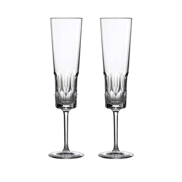 Jeff Leatham Icon Champagne Flutes