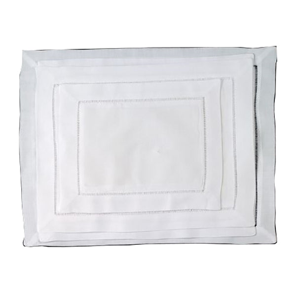 White Hemstitch Hot Pads