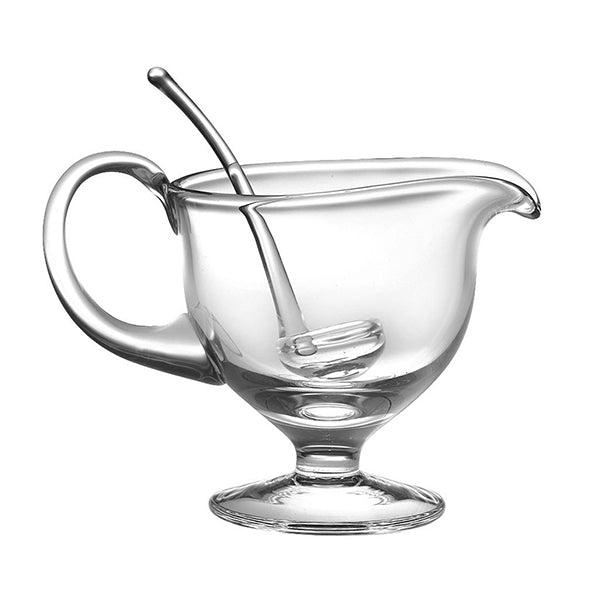 Crystalline Gravy Boat with Ladle